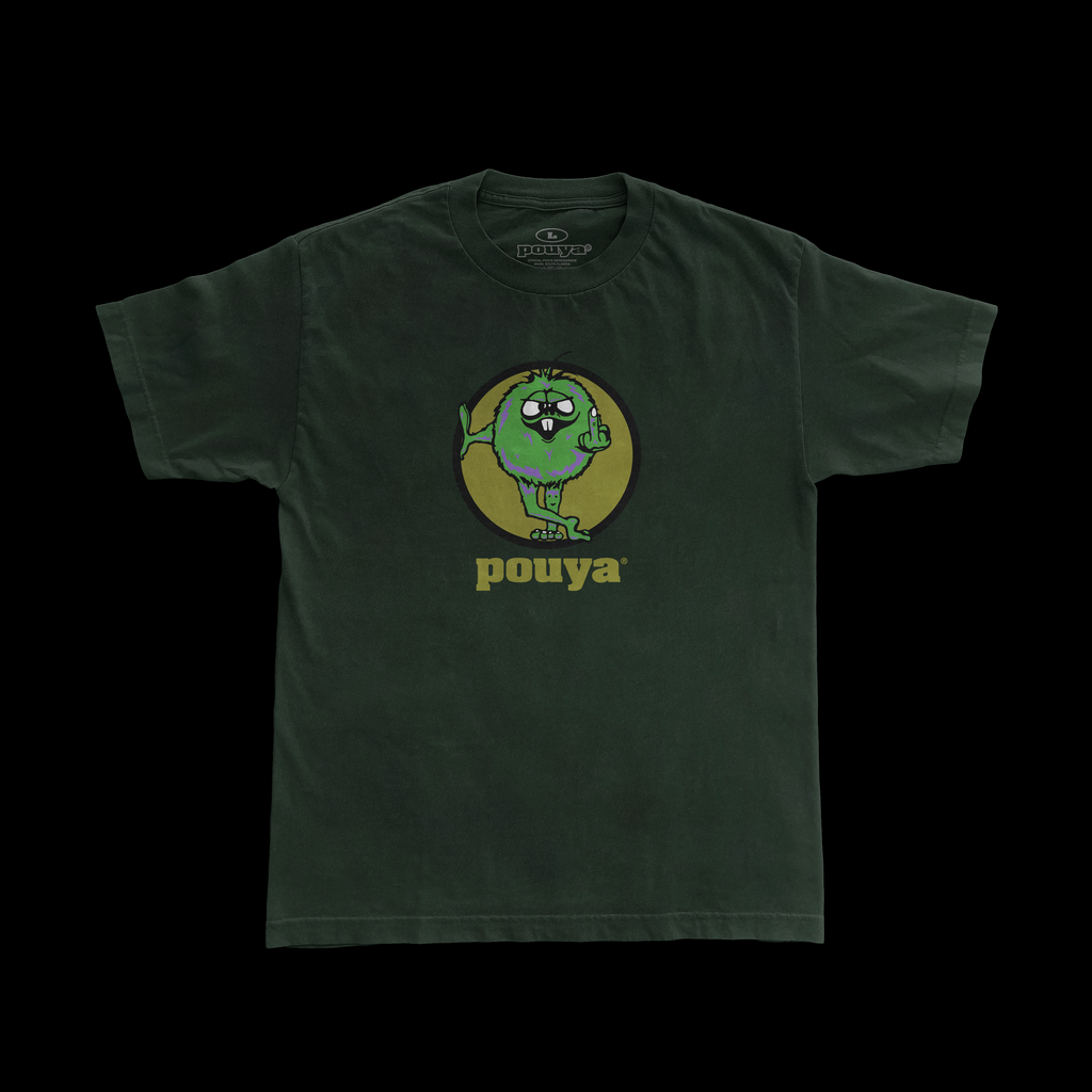 NUMBER 1 TEE - GREEN