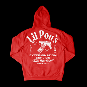 Kill Rats Hoodie - Red