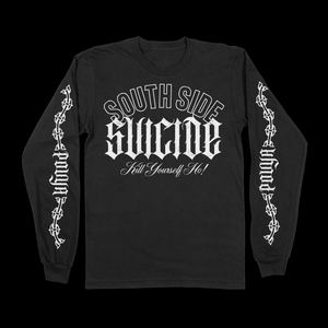 SOUTH SIDE LONG-SLEEVE - BLACK