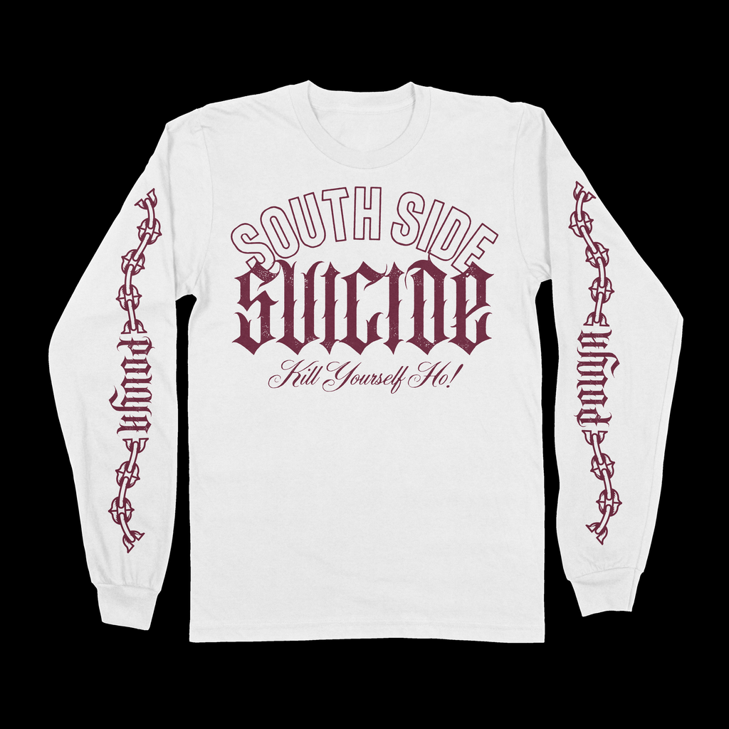 SOUTH SIDE LONG-SLEEVE - WHITE