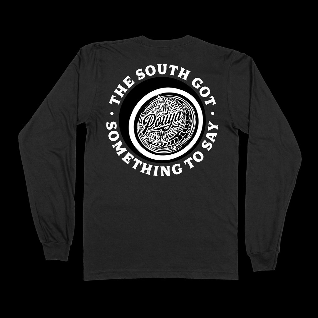POUYA LONG-SLEEVE - BLACK