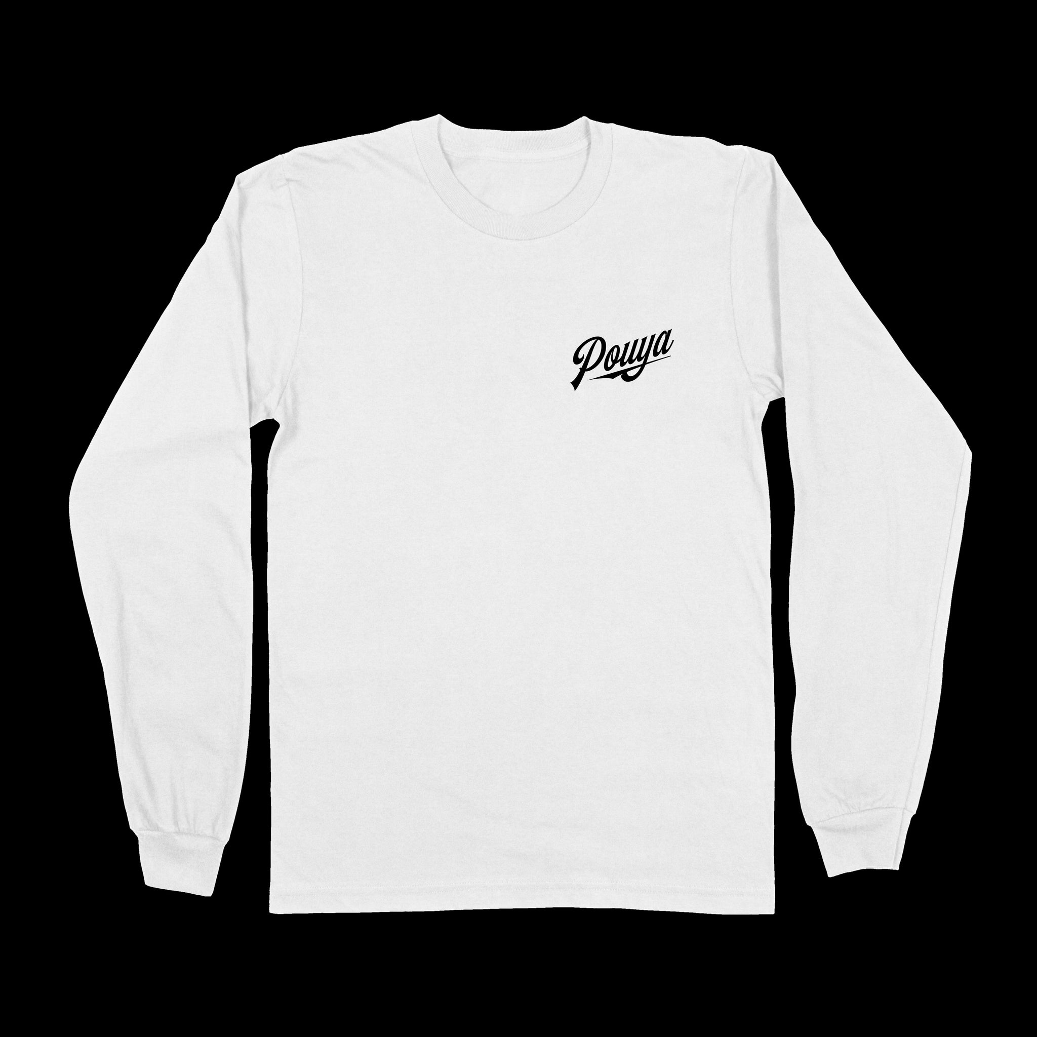 POUYA LONG-SLEEVE - WHITE