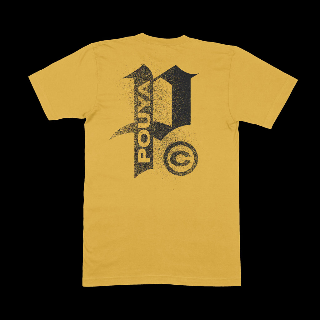 POUYA TEE - YELLOW