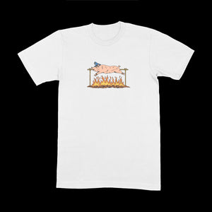 ROASTED TEE - WHITE