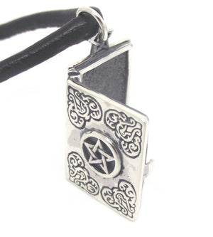 Book of Shadows Locket in Sterling Silver