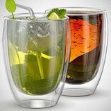 Handmade Double Wall Glass Cup