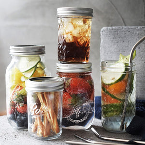 Glass Mason Jar Set