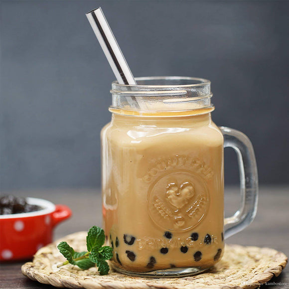 Extra Wide Boba Metal Straws