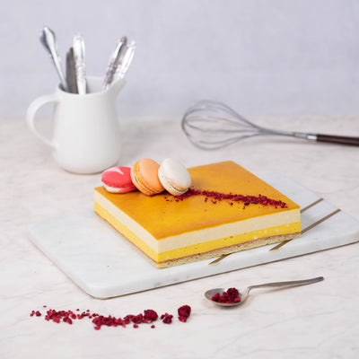 Mango and Vanilla Cake