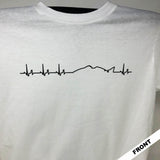 Heartbeats Short Sleeve White
