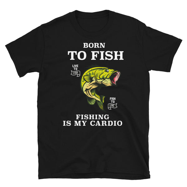 t-shirt, fish, fishing, fisherman