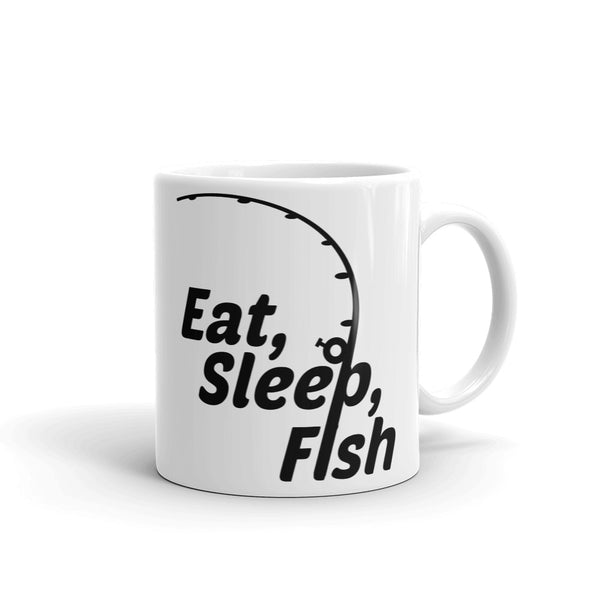 Mug, fish, fishing, fisherman