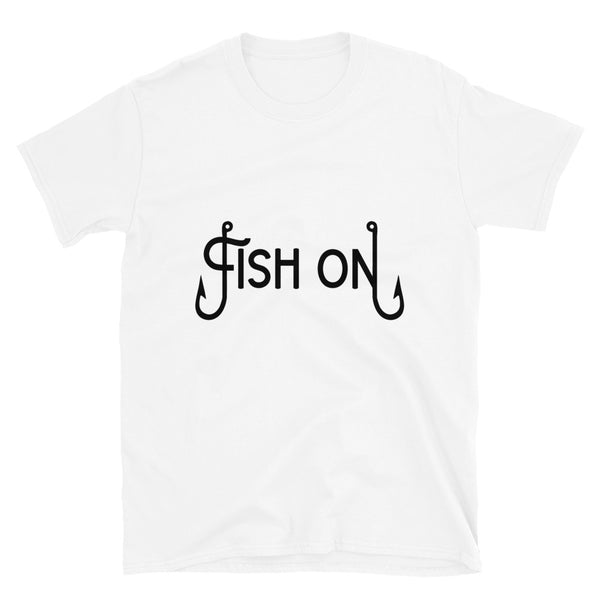 Fish on 3 (Gildan 64000 Unisex Softstyle T-Shirt)