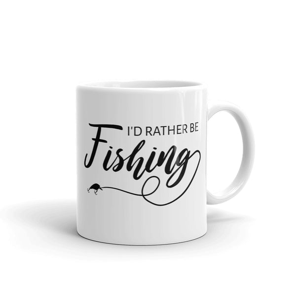 Mug I'd rather be fishing