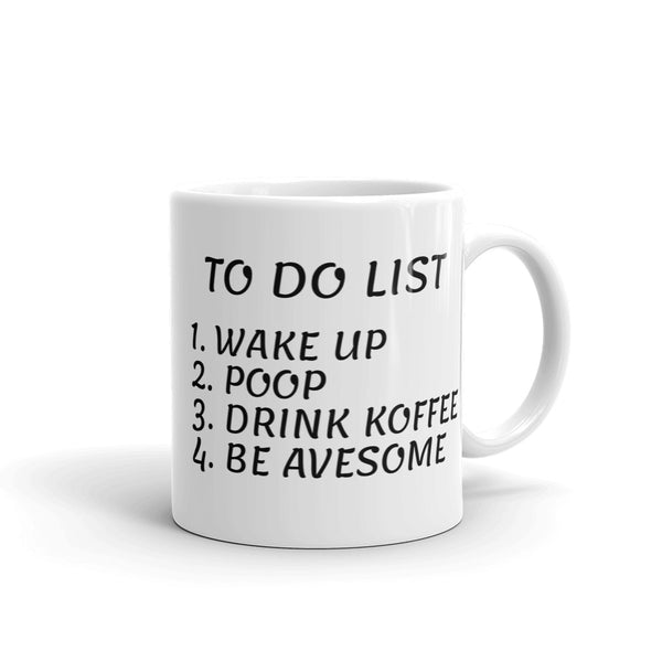 Mug To do list