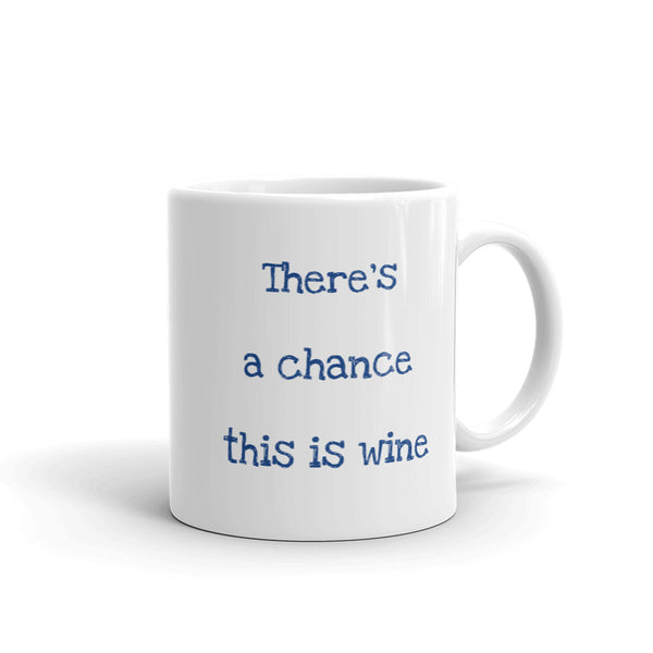 Mug there's a chance this is wine