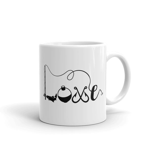 Mug Love fishing