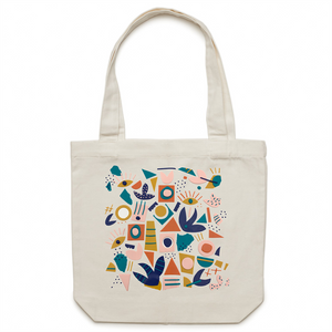 Canvas tote bag with cool design