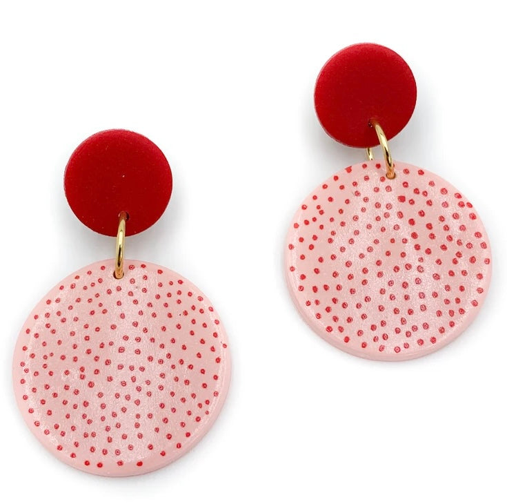Spotty - Pink & Red