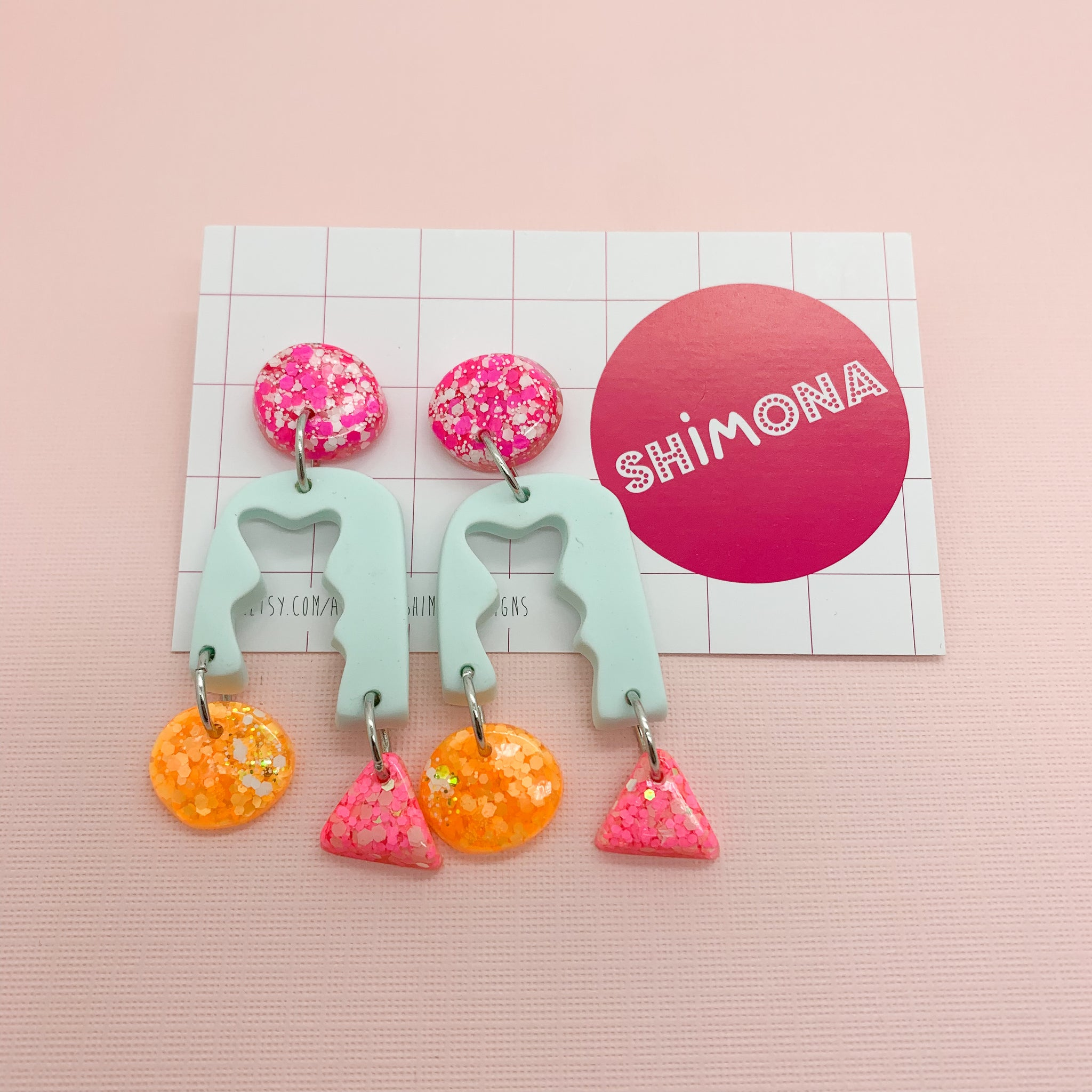 Shimona - In Pieces Dangle Earrings