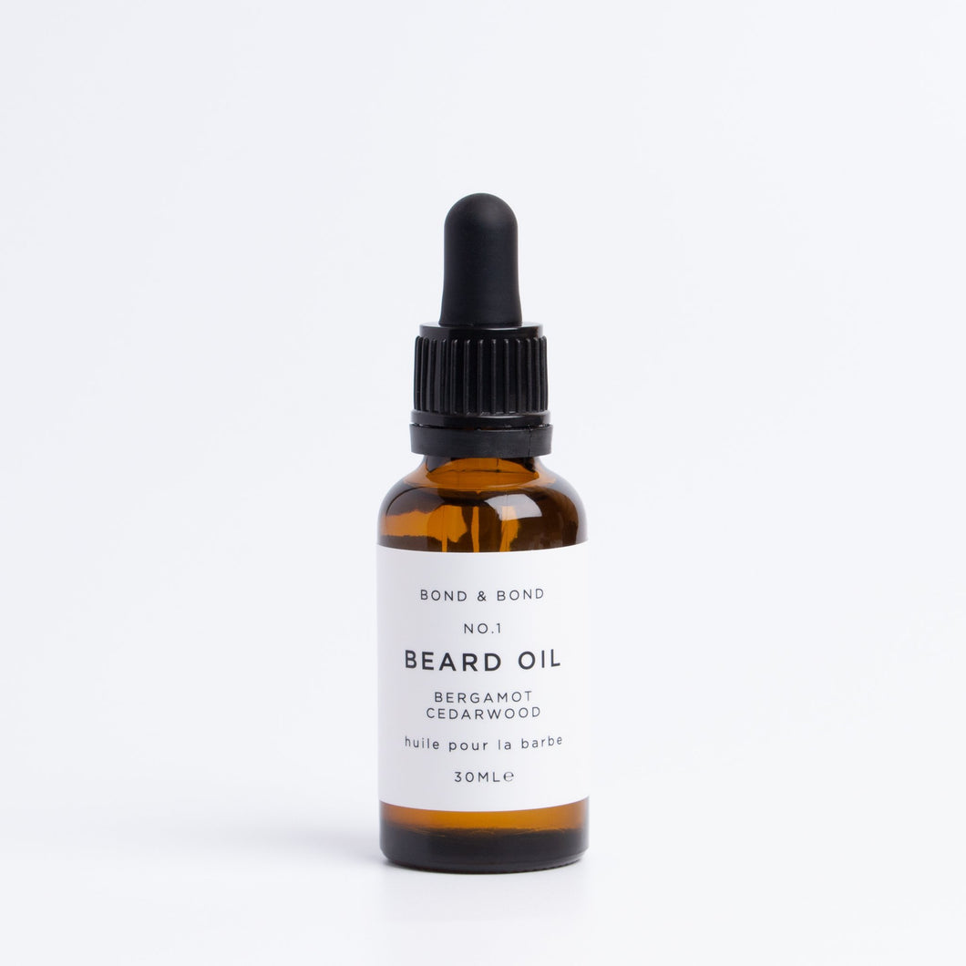 Beard Oil Cedarwood, Jojoba, Bergamot - BioBunnies