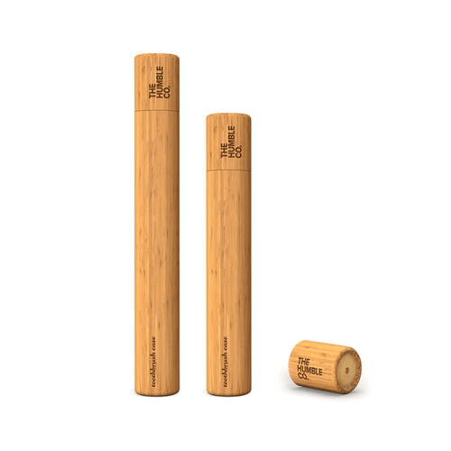 Humble Eco-friendly Bamboo Toothbrush Case - BioBunnies