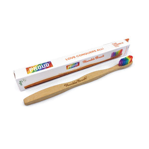 Humble Eco-friendly Bamboo Toothbrush - Soft bristles Proud edition - BioBunnies