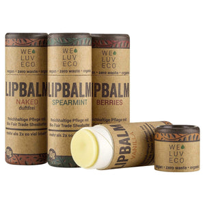 Lip Balm with Shea Butter - Fragrance Free - BioBunnies