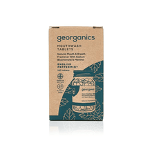 Mouthwash Tablets Georganics English Peppermint - BioBunnies