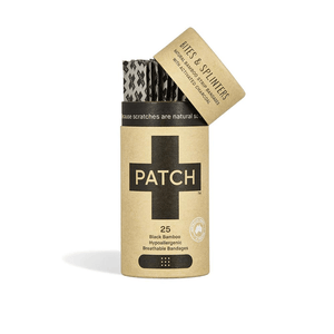 Organic Bamboo Plasters - Patch Activated Charcoal - BioBunnies