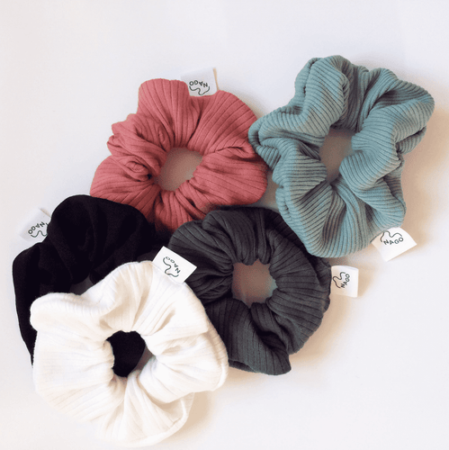 Scrunchies: Slow Fashion + Organic Cotton - BioBunnies