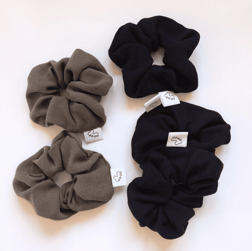Scrunchies: Slow fashion + Tencel - BioBunnies