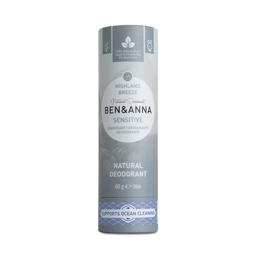 Sensitive Natural Deodorant Highland Breeze - BioBunnies