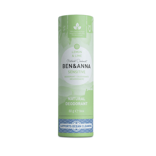 Sensitive Natural Deodorant Lemon & Lime - BioBunnies