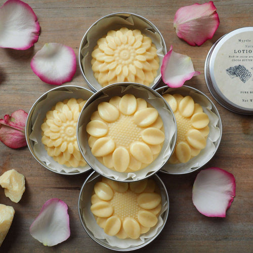 Solid Body Butter Bar with organic cocoa butter - BioBunnies
