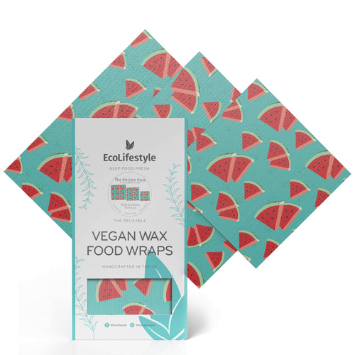 Vegan Wax Food Wraps Watermelon - BioBunnies