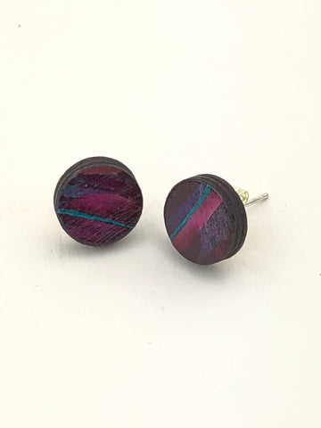 Miniature Original Painting Earrings. 'Makers 1'