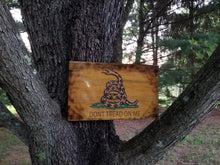 Load image into Gallery viewer, Gadsden Flag - Hudson Woodworking