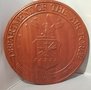 Military Plaques- Air Force - Hudson Woodworking