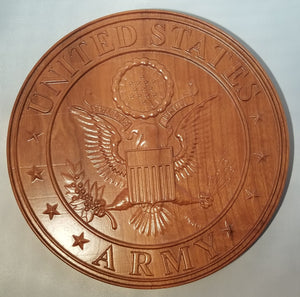 Military Plaques- Army - Hudson Woodworking