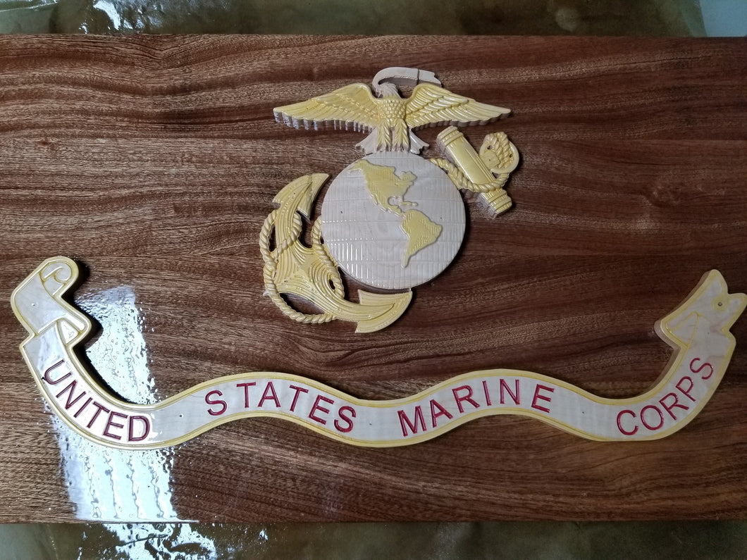 USMC FLAG - Hudson Woodworking