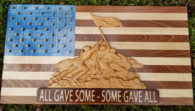 All Gave Some-Some Gave All Flag - Hudson Woodworking