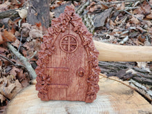 Load image into Gallery viewer, Flower Fairy Door - Hudson Woodworking