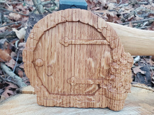 Set of three fairy doors
