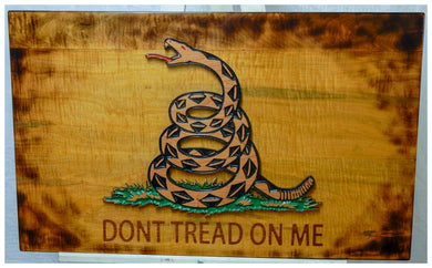 Gadsden Flag - Hudson Woodworking