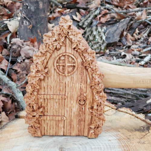 Flower Fairy Door - Hudson Woodworking