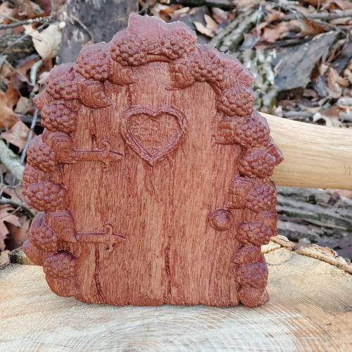Heart Fairy Door - Hudson Woodworking