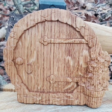 Load image into Gallery viewer, Round Fairy Door - Hudson Woodworking