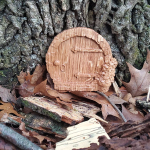 Round Fairy Door - Hudson Woodworking