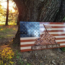Load image into Gallery viewer, All Gave Some-Some Gave All Flag - Hudson Woodworking